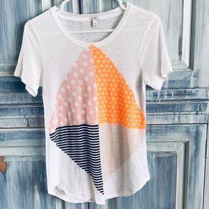 J. Crew Linen T Shirt